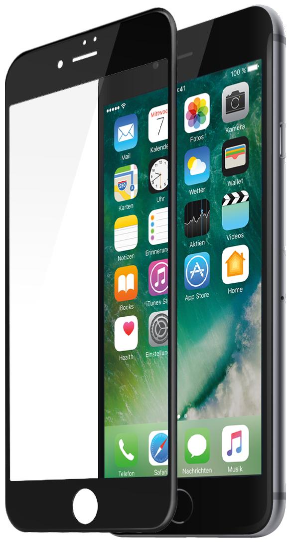 Защитное 3D-стекло Partner для iPhone 7, черное