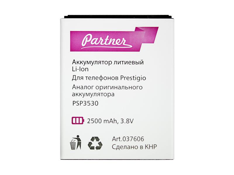 Аккумулятор Partner для Prestigio PSP3530 Muze D3 (PAP3530), 2500mAh