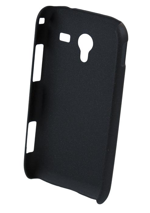Чехол-накладка Samsung Galaxy Ace 2 i8160 (матовый черный)