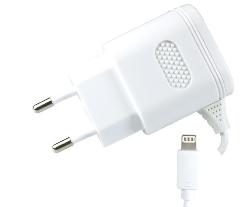 Сетевое зарядное устройство Partner 8pin Apple, 2.1А