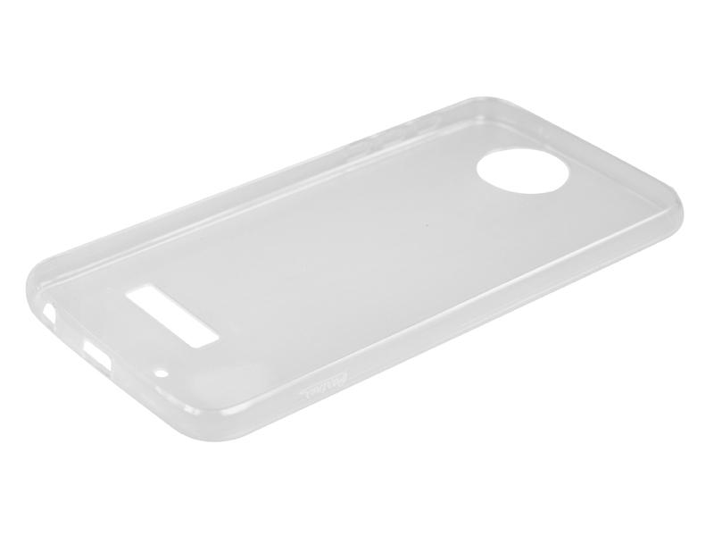 Силиконовый чехол Partner для Motorola Moto Z Play, 0.6 мм, прозрачный