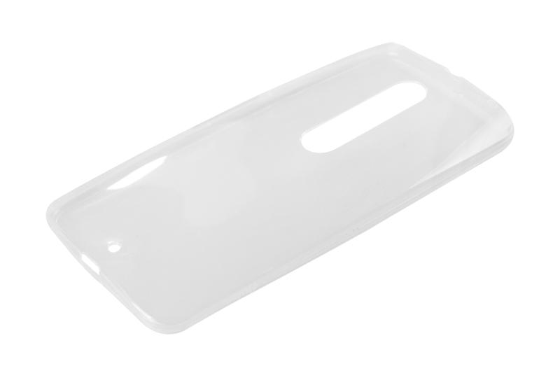 Силиконовый чехол Partner для Motorola Moto X Style, 0.6 мм, прозрачный