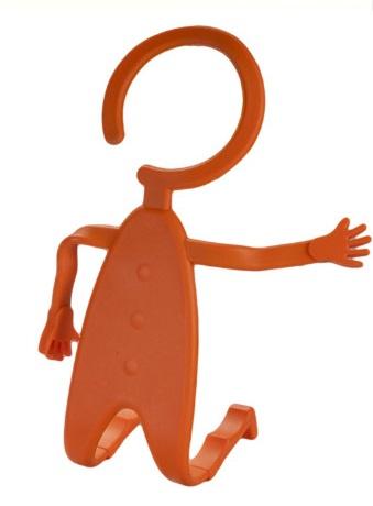 Универсальный силиконовый держатель Mr.Flex (оранжевый)