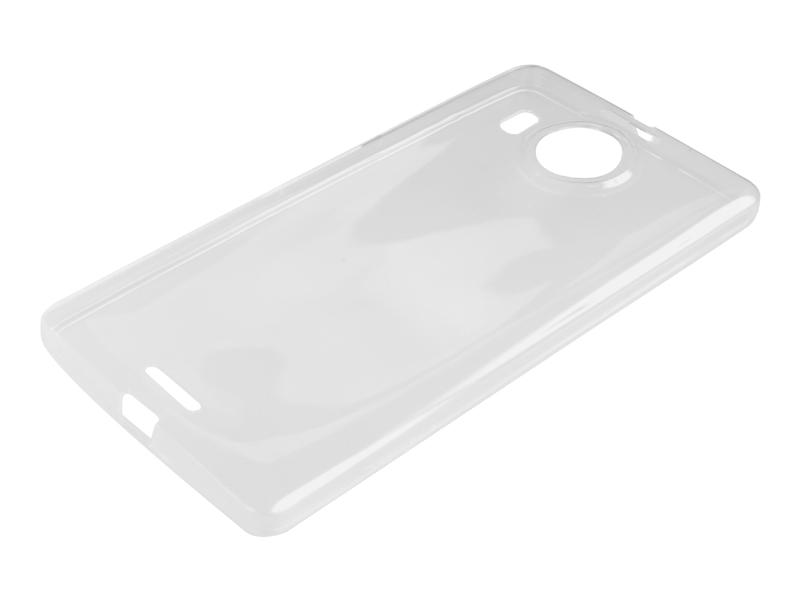 Силиконовый чехол Partner для Microsoft Lumia 950 XL, прозрачный, с защитой камеры