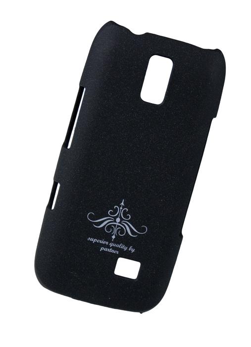 Чехол клип-кейс (накладка) Nokia Asha 308/309/310, матовый черный