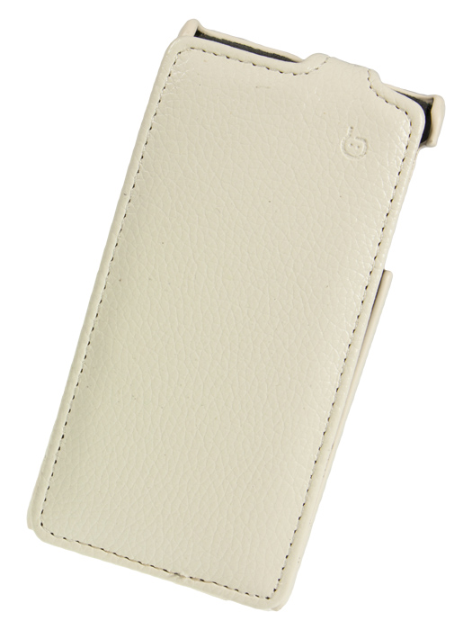 Чехол Flip-case Sony Xperia J (ST26i) белый