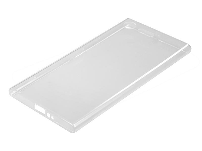 Силиконовый чехол Partner для Sony Xperia XZ Premium, прозрачный