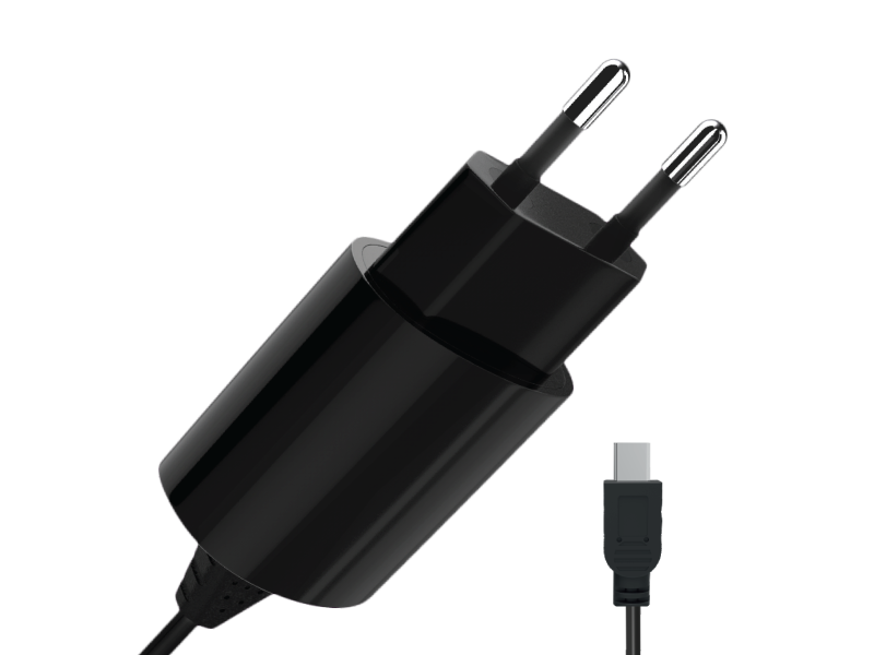Сетевое зарядное устройство Partner mini USB,1A