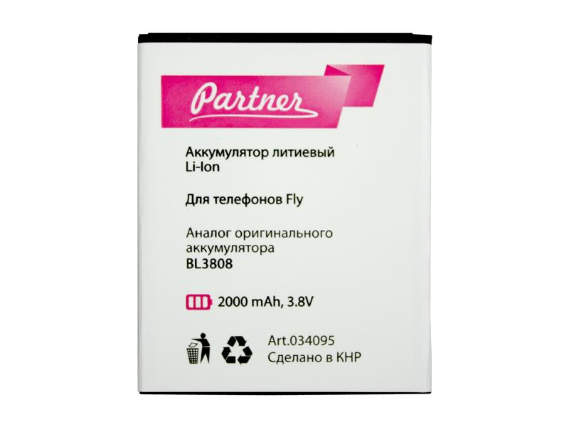 Аккумулятор Partner для Fly IQ456 ERA Life 2 (BL3808), 2000mAh