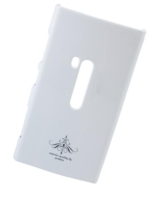 Чехол клип-кейс (накладка) для Nokia Lumia 920, глянец белый